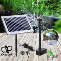 Gardeon Solar Pond Pump Powered Water Outdoor Submersible Fountains Filter 25W