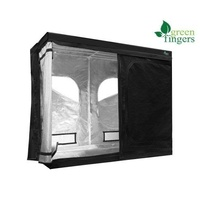 Greenfingers Grow Tent Kits 2.4Mx1.2Mx2M Hydroponics Indoor Grow System Black