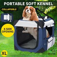 Pet Carrier Bag Dog Puppy Spacious Outdoor Travel Hand Portable Crate XL
